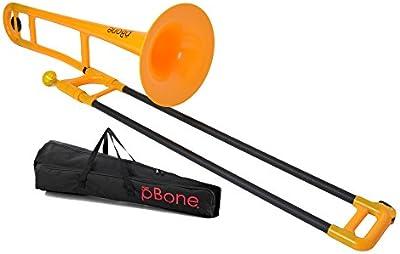 pBone PBONE1OR Jiggs pBone - Plastic Trombone -
