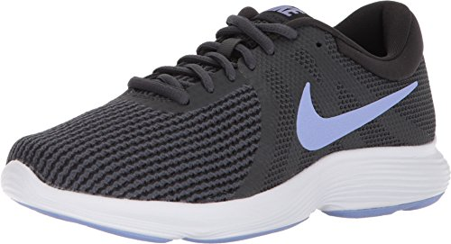 Nike Women's Revolution 4 Running Shoe Anthracite/Twilight Pulse/Black Size 7 M US