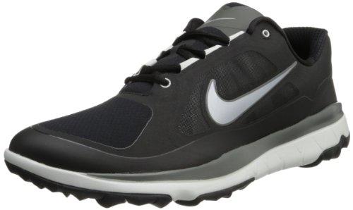 Nike, Scarpe da golf uomo nero Talla Nero/argento-grigio (Blk / Mtllc Slvr-Lt Bs Gry-Drk B-)