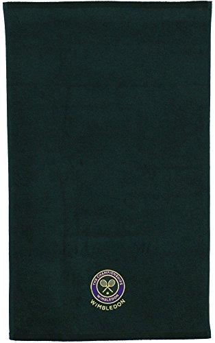 Wimbledon org. Men Guest Towel Green, Color- Green -