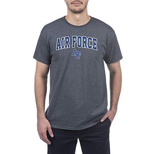 eLITe NCAA Men 's Short Sleeve T-Shirt Anthrazit Grau -