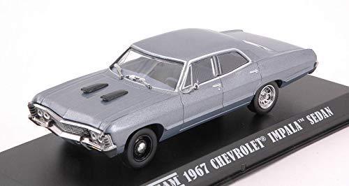 Greenlight - Modell Chevrolet Impala Sport Sedan 1967 aus der Telefilm A-Team Scale 1/43 grau DieCast Hollywood