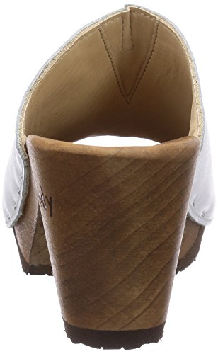 Woody Elly 12234, Chaussures femme Blanc - Blanc