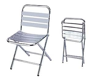 Sedie sedia pieghevole in alluminio leggera cm 43x59x79h - Sedie cucina amazon ...