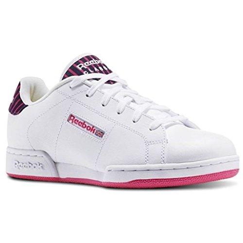 Reebok Damen Schuhe / Sneaker NPC II Stripe Weiß