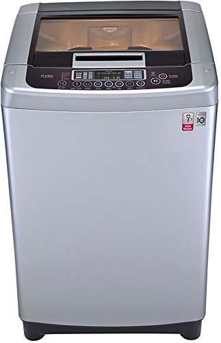 LG 7 kg Fully-Automatic Top Loading Washing Machine (T8067NEDLR, Free Silver)
