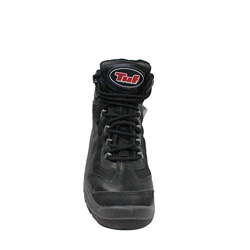 TuF s1 sRC chaussures berufsschuhe businessschuhe chaussures de trekking (noir) Noir - Noir