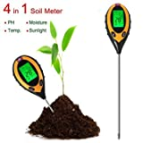 4 In 1 Electronic Soil Tester PH Humidit...