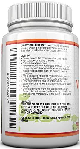 Vitamin B12 Methylcobalamin 1000 mcg – 6-Monats-Versorgung – 180 Tabletten – Nahrungsergänzungsmittel von Nu U Nutrition - 6