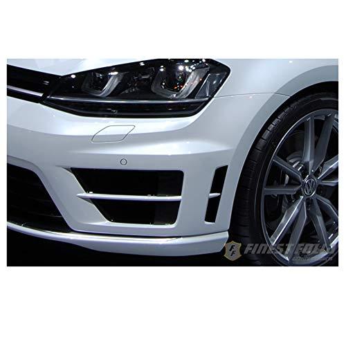 Kiemen Folie Dekor Schwarz Glanz passend für VW Volkswagen Golf 7 VII MK R Aufkleber Frontschürze