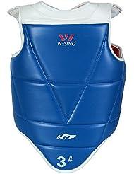 wesing protección de cuerpo para taekwondo WTF Taekwondo Reversible pecho guardia nueva
