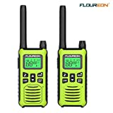 floureon Talkie-Walkie Paire Rechargeable 16 Canaux Radio Bidirectionnelle...
