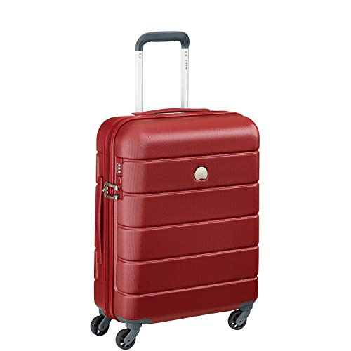 Delsey Paris LAGOS Koffer, 55 cm, 44 Liter, Rot
