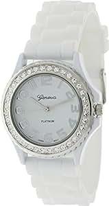 Geneva Platinum 6886.White.Silver Femme Montre