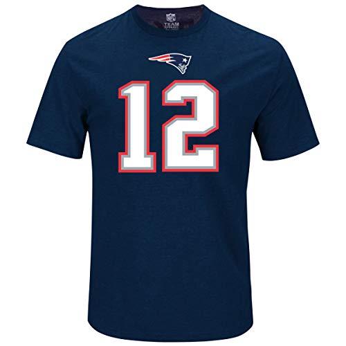 Majestic NFL Fan Shirt - New England Patriots 12 Tom Brady -