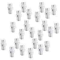 Sharplace 24 Unidades de Tornillos de Freno para Bicicletas Hecho de Aluminio