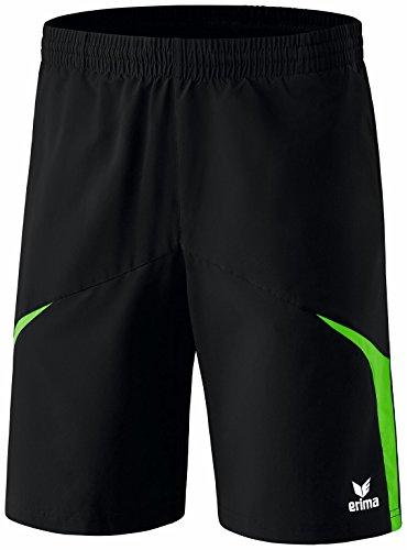 Erima Herren Oberbekleidung Razor 2.0 Shorts Schwarz/Green XXL