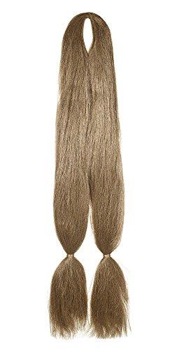 American Dream Rasta y creativa de estilo Kanekelon Twin trenzado para extensiones de pelo, color 27Mousey Marrón