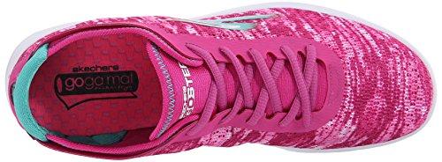 SkechersGo Step - Scarpe da Ginnastica Basse Donna Pink
