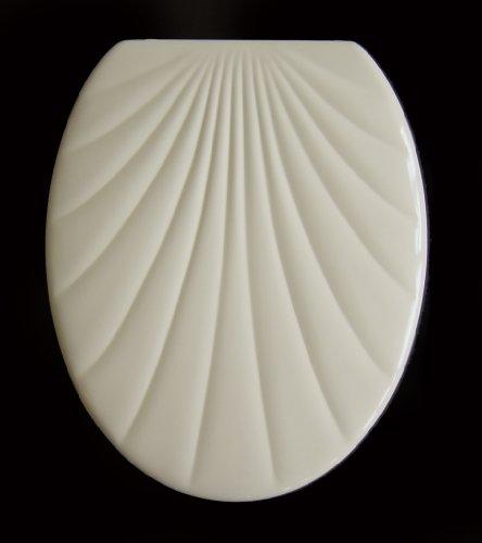ADOB WC Sitz Klobrille Muschelform Duroplast, beige, 14875