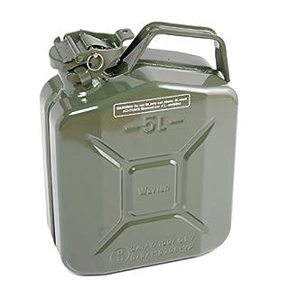 Jerry Can 5 L Litre Metal Fuel Diesel Gasoline Petrol Oil Green Kerosene Army Type J008
