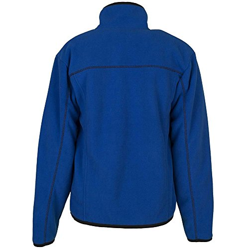 Giacca in pile invernale Inuit colore rosso - Blu