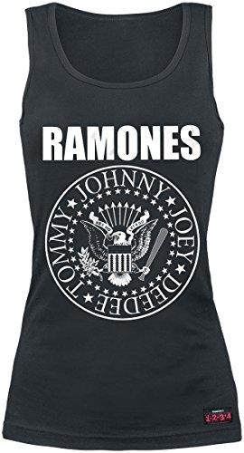 Ramones Seal Top Mujer Negro XL
