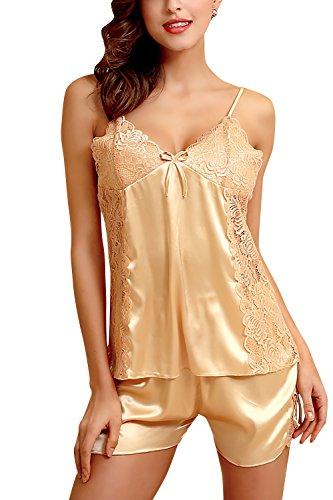 dolamen-damen-satin-schlafanzug-nachthemd-negliee-spitze-sleepshirt-schlafanzug-luxus-und-attraktiv-