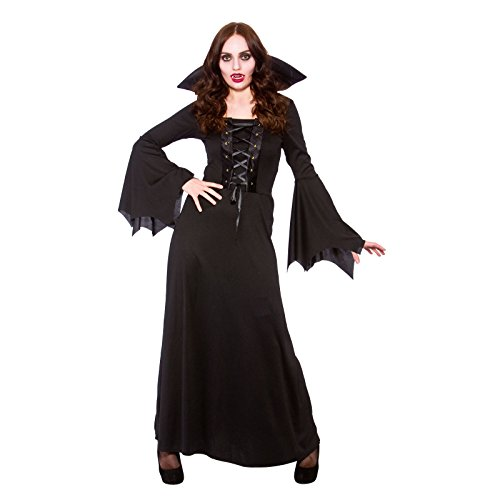 Kostüme Halloween Fancy Dress (Dark Vampires Womens Halloween Fancy Dress)