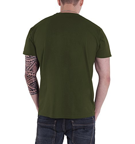 Cypress Hill T Shirt 420 2013 Leaf Band Logo officiel Homme nouveau Vert