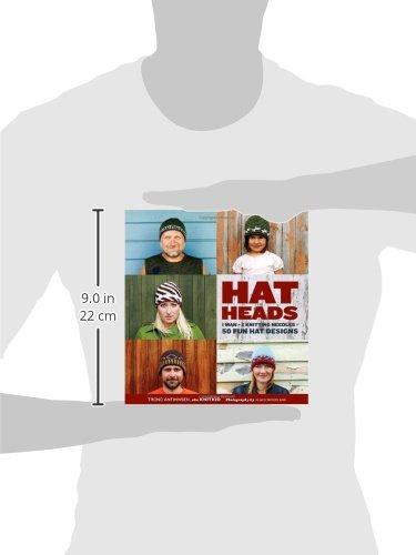 Hatheads: 1 Man + 2 Knitting Needles = 50 Fun Hat Designs