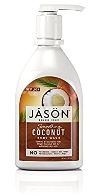 Jason Smoothing Coconut Body Wash in Pump Bottle 887ml from Jason