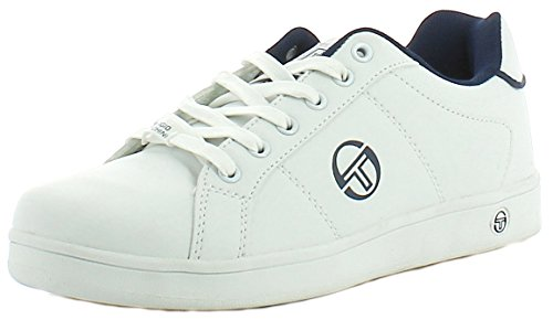 Sergio Tacchini Ttg00908, Sneakers basses homme Blanc et marine