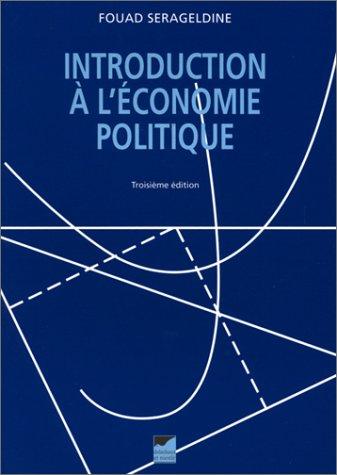 Introduction à l'économie politique par Fouad Serageldine