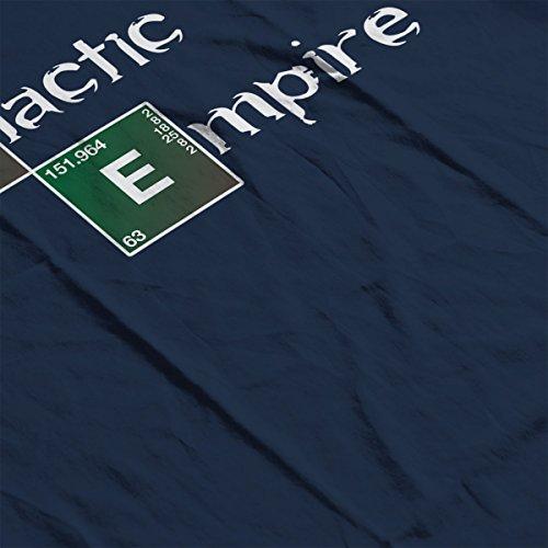 Star Wars Rogue One Galactic Empire Breaking Bad Logo Women's Sweatshirt Navy blue