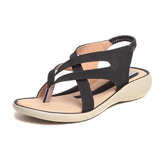 Feel-It-Comfortable-Leatherite-CasualFormalPartywear-Flats-Footwear-for-Women-Girls-d-17-black-P-Black