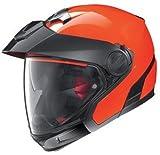 Nolan N40-Full Hi-Visibility Plus Jethelm, Farbe orange, Größe L (59/60)