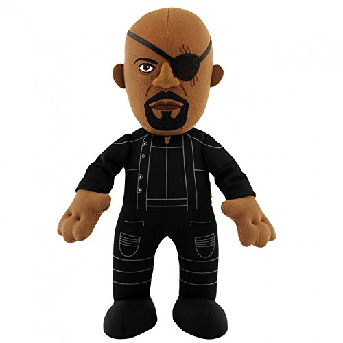 Bleacher Creatures Marvel: Avengers Age of Ultron-Nick Fury 10 Plush Toy