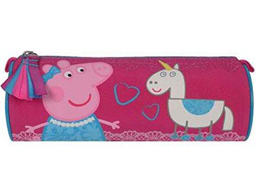 Peppa Pig Caja de Lápiz Rosa Be Happy | Niños Escuela Bolsa