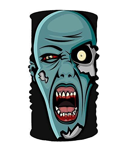 Rghkjlp Zombie Head 16-en-1 Bufanda mágica