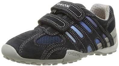 Geox JR SNAKE BOY B J42G7B01422C0693 Jungen Sneaker, Blau (NAVY/LT BLUE C0693), EU 26
