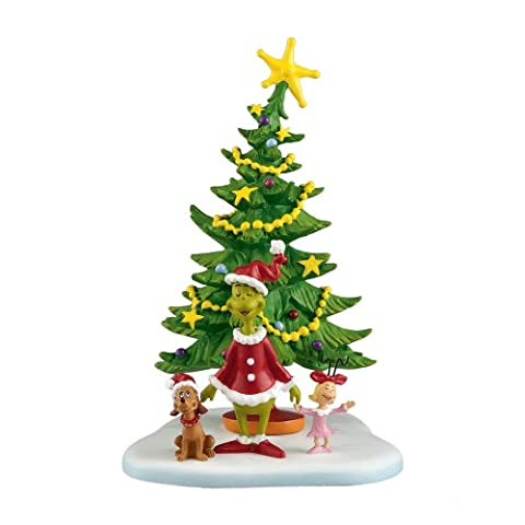 Department 56 Grinch Villages Welcome Xmas Day Village Accessory, 5.625-Inch by Department 56