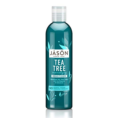 Organic Tea Tree Oil Therapy Conditioner 237ml by Jason Bodycare (English Manual) - Conditioner Shampoo Jason