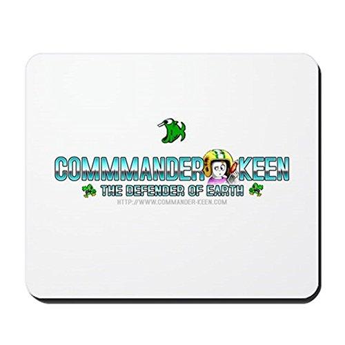 Preisvergleich Produktbild CafePress-Commander Keen-Rutschfester Gummi-Mauspad, Gaming Maus Pad