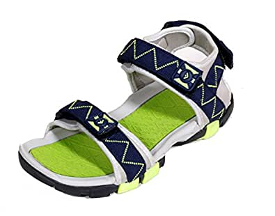 IndiWeaves Mens Blue Super Comfortable Casual Sandal-Size-6