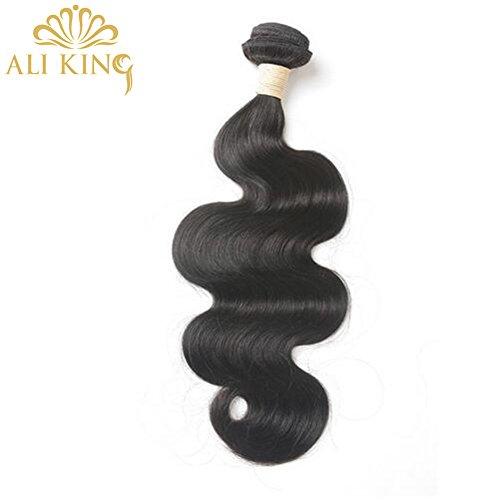 Haar Bundles Indisches ([ALI KING] Körper-Welle indische Remy Haar-Verlängerungen 10-Zoll-Natur-Farben-Menschenhaar 100% für Frauen Bundles 1PCS Freien Verschiffen)