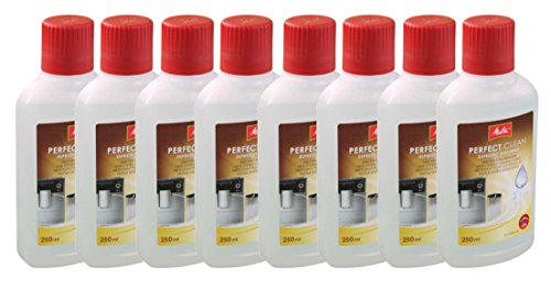 Melitta Perfect Clean Milk System Cleaner, 250 ml (Pack of 8) Test