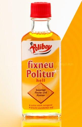 Poliboy fixneu Politur hell 100ml (H3/11)