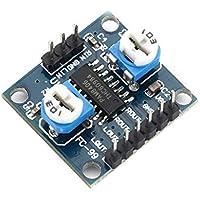 Wenwenzui-ES PAM8406 Tablero del Amplificador de Potencia Digital Amplificadores de Audio Potenciómetro de Volumen