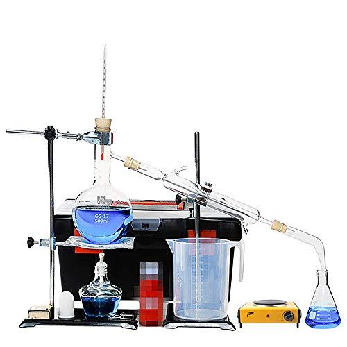 Magnetischer Labormischer-Rührer-Glas-Destillationsapparat Chemische Laborausstattung Elektroofen (Color : B)